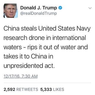 "Unprecedented use of ""unpresidented."" #trump #twitter #donaldtrump"