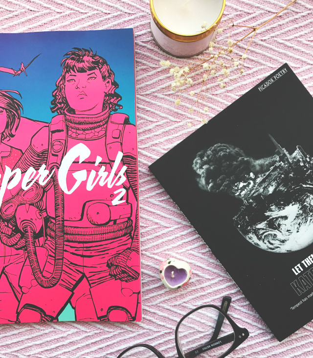 paper girls brian k vaughan let them eat chaos kate tempest book review uk book blog vivatramp
