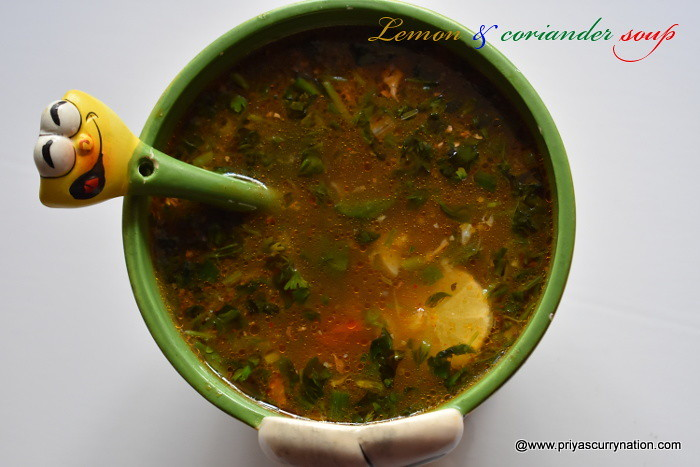 lemon-coriander-soup-recipe