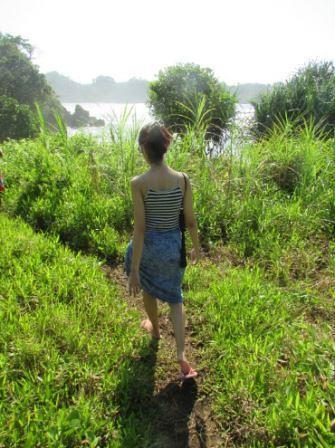 trackking di Pantai Sabana