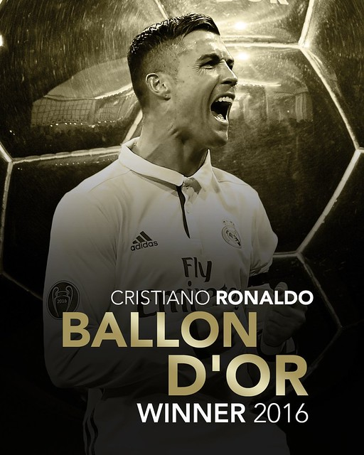 Cristiano Ronaldo se hace con su 4º Balón de Oro