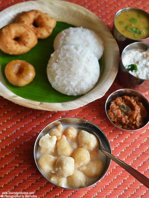 Poori Masala,Idiyappam Varieties