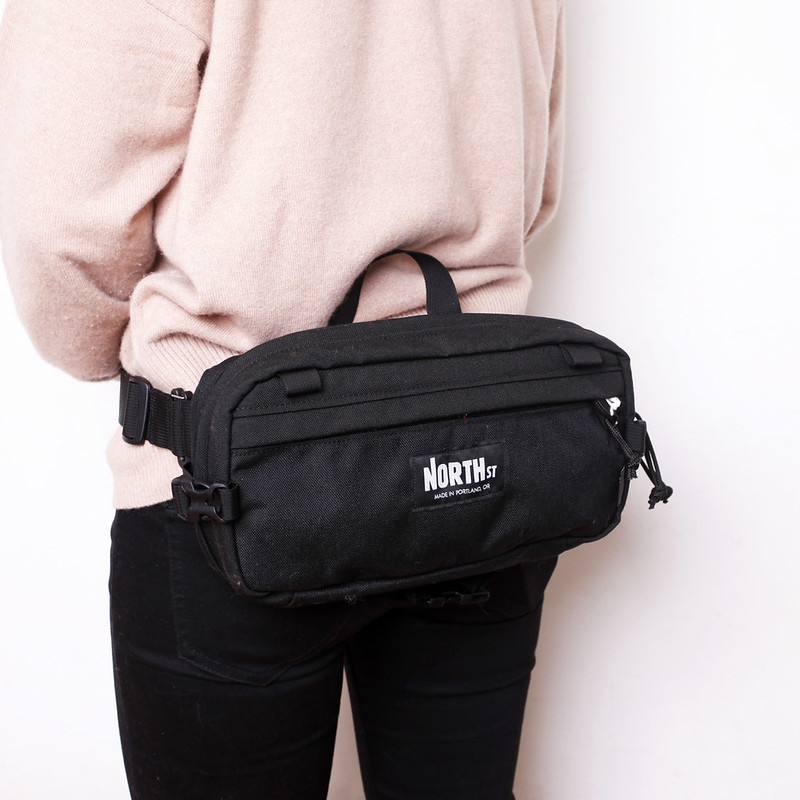 North St. Bags / Pioneer 12 Hip Pack / Blackout