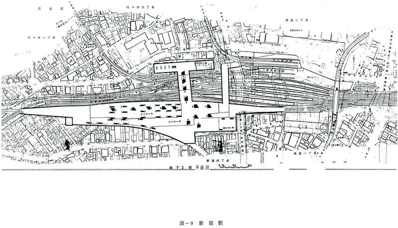 大新宿構想時代の上越新幹線新宿駅地下ホーム (11)