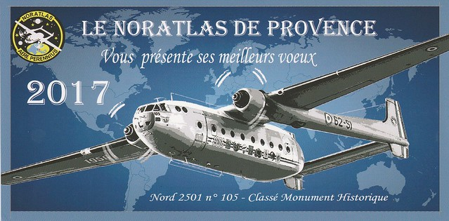voeux Noratlas de provence