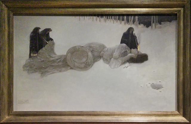 A Carcass, Gustav Adolf Mossa