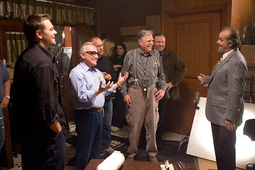 The Departed - backstage 3