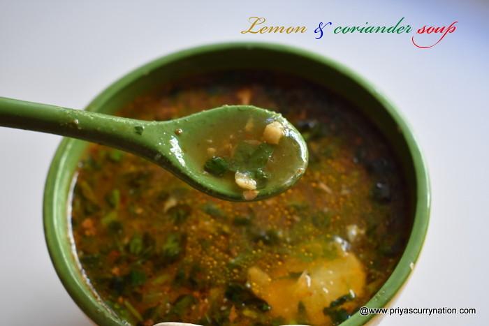 lemon-coriander-soup-recipe