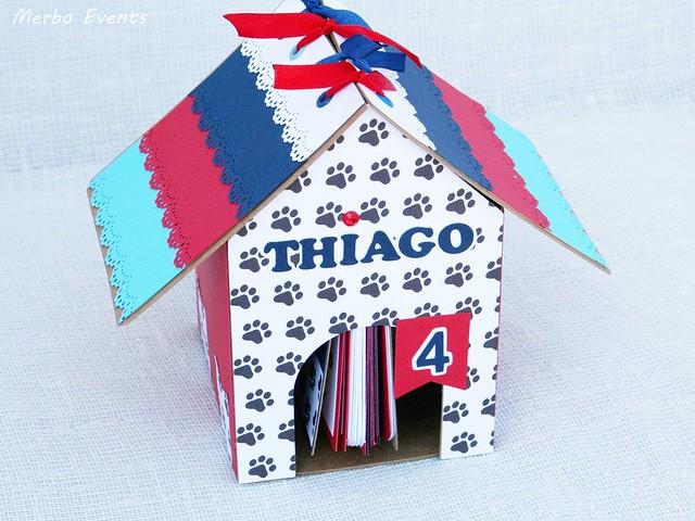 Álbum de fotos y recuerdos Casa Patrulla Canina para niño