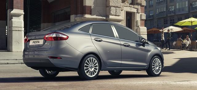 Ford New Fiesta Sedan 4