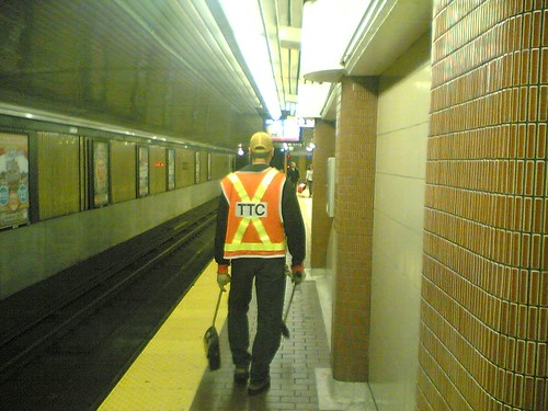 TTC Cleanup Crew At Union Station | by sillygwailo