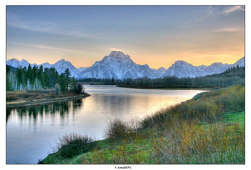 Grand Tetons by Sunset | by Arnold Pouteau's