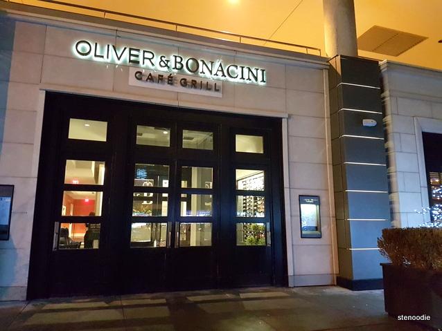 Oliver & Bonacini Café Grill Yonge & Front storefront