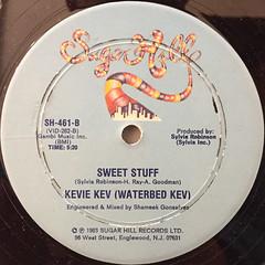 KEVIE KEV(WATERBED KEV):ALL NIGHT LONG(WATERBED)(LABEL SIDE-B)