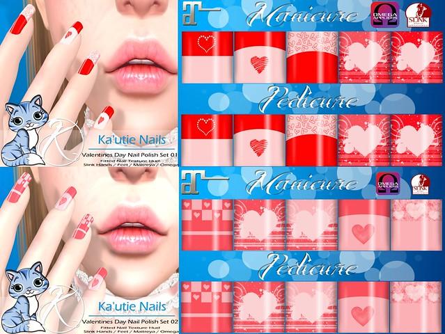 Ka'utie Nails - Valentines Edition
