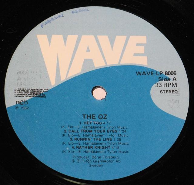 "THE OZ HEAVY METAL HEROES / HEY YOU 12"" vinyl LP"