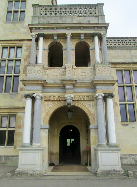 Audley End, Entrance to House