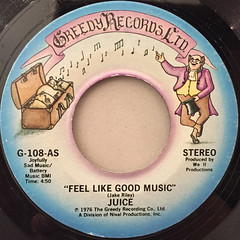 JUICE:FEEL LIKE GOOD MUSIC(LABEL SIDE-A)