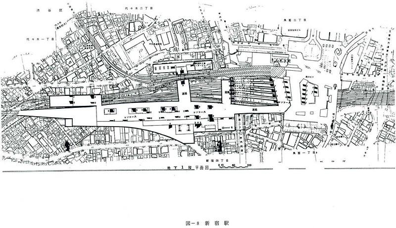 大新宿構想時代の上越新幹線新宿駅地下ホーム (10)