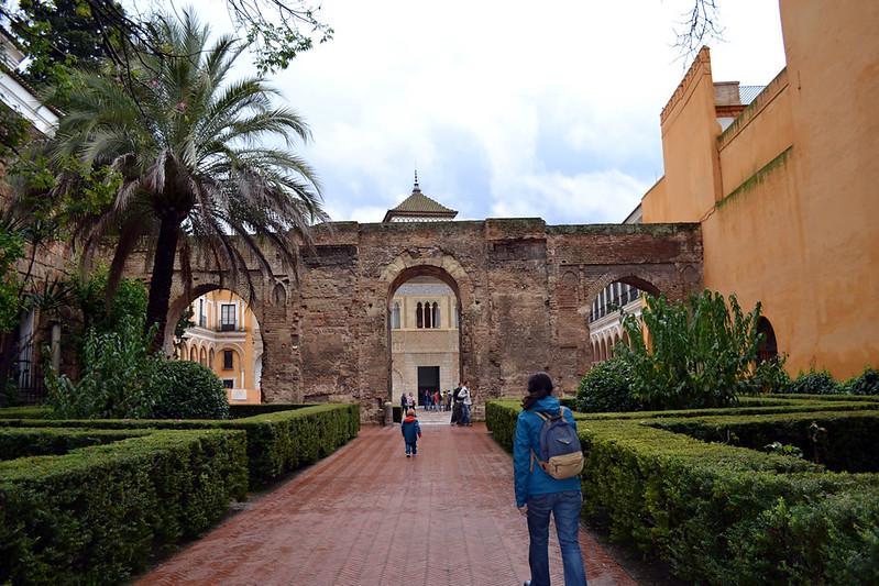 Alcázar, muralla abbasi