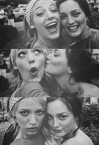 Gossip Girl Blair and Serena