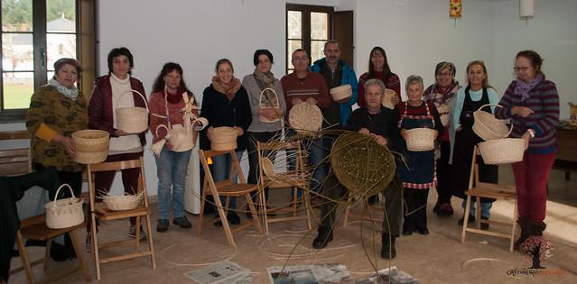 Obradoiro de cestaría