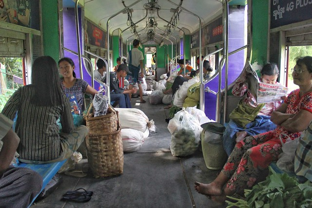 Riding Yangon's Circle Train