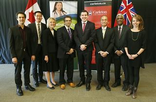 John R. Evans Leaders Fund Announcement at Carleton University