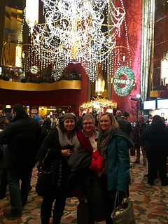 My sister, my mom, and I at Radio City Music Hall