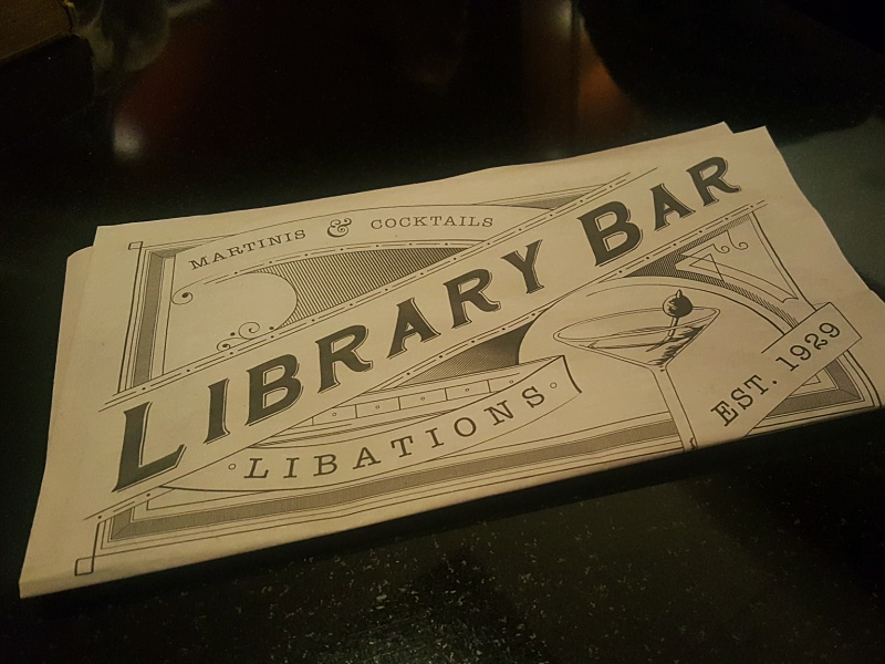 Library Bar Royal York