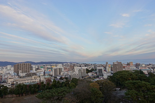 Odawara sky from Odawara castle tower 07