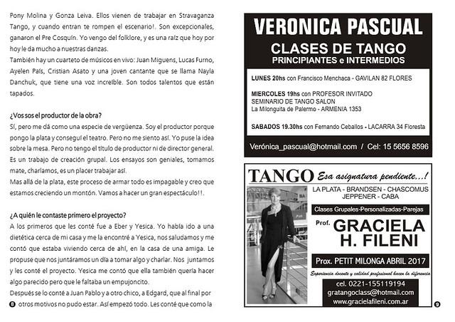 Punto Tango Enero 2017 Magazine 13