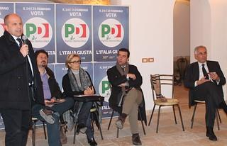 Da destra - Grassi, Antonacci, Lofano, Scagliusi, Vitto