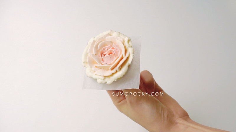 Gradient Buttercream Rose