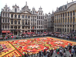 Flower carpet at the Grand Place | by Yabby
