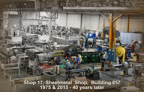 Quot Then Amp Now Quot Shipyard Sheet Metal Shop Bremerton Wash
