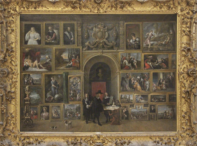 Archduke Leopold William in his gallery of Italian paintings, David Teniers