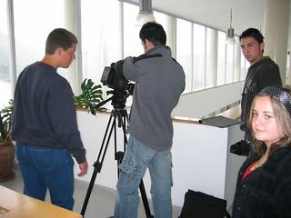 Taller de cortometraje, realizado con metodologías de audiovisual participativo