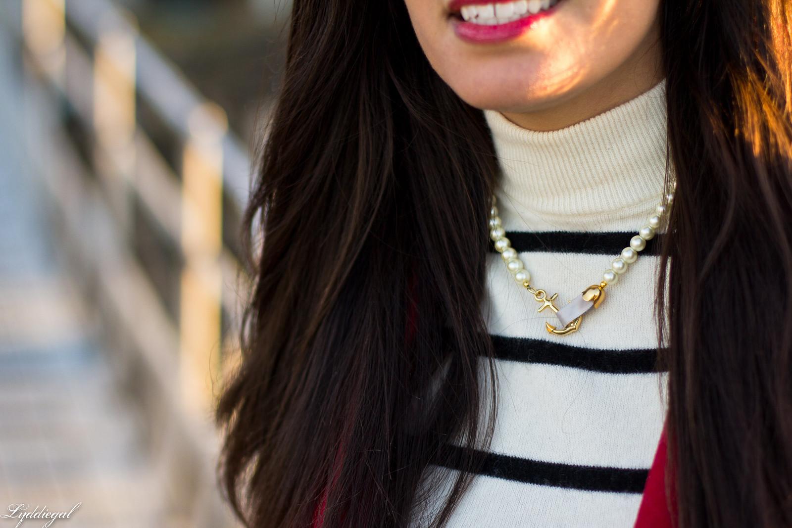 striped sweater, flared denim, red pea coat-5.jpg