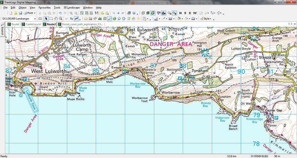 Lulworth Cove Map Coastal Path from Lulworth Cove rideable?   Singletrack Magazine Lulworth Cove Map