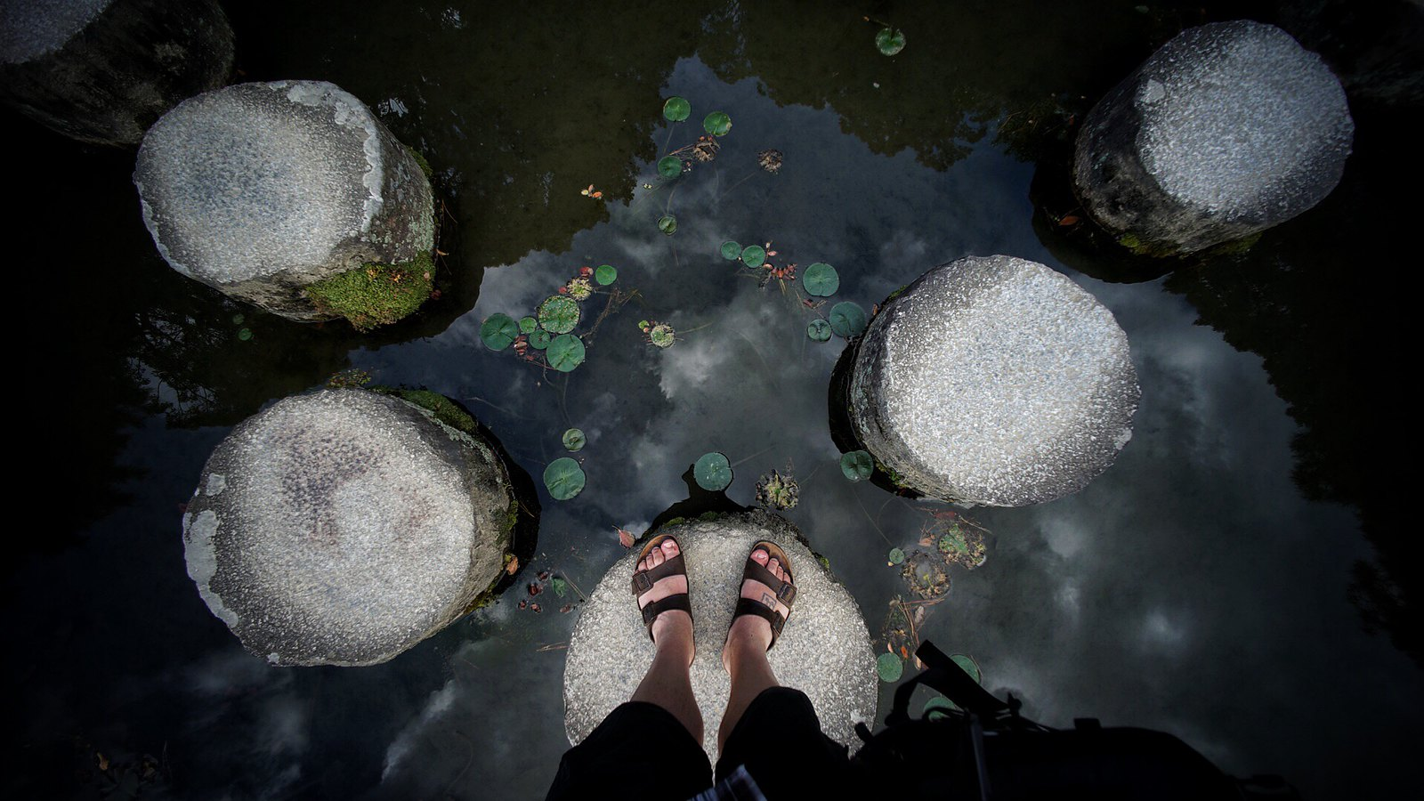 Stepping Stones #heian #Kyoto #SonyA7 #Voigtlander12mm #foto #japan15
