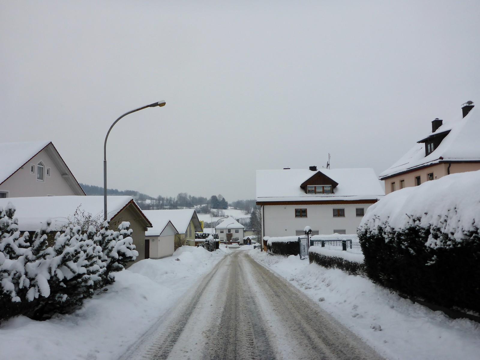 unterwegs in Zwiesel - Bayrischer Wald