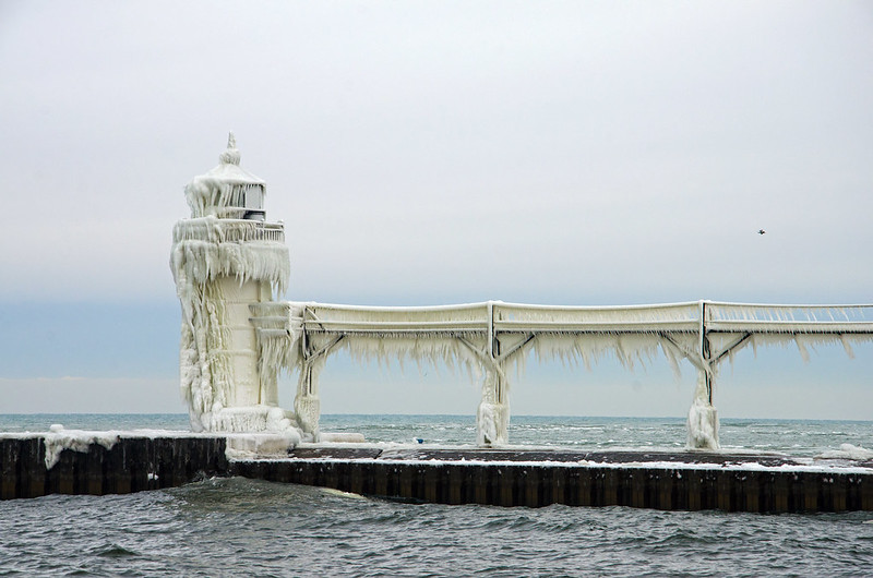 Iced Outer Lighthouse