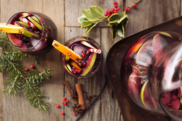 Spice-Infused Winter Sangria