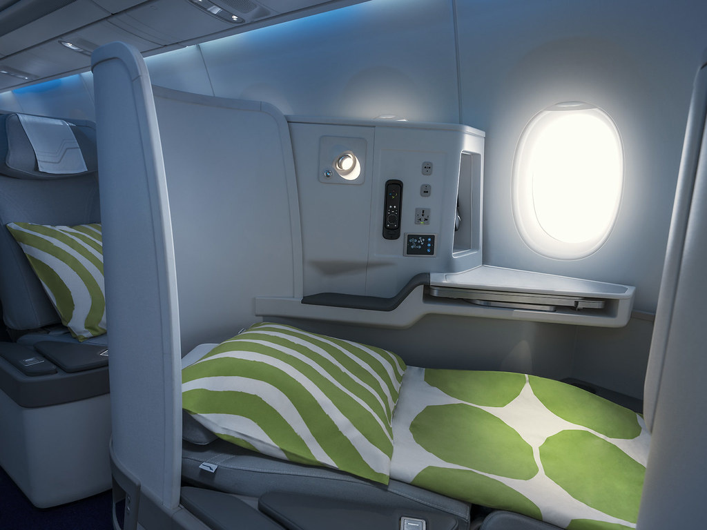 FINNAIRIN A350 Business Class
