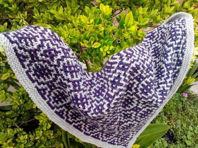 Ohm shawl III