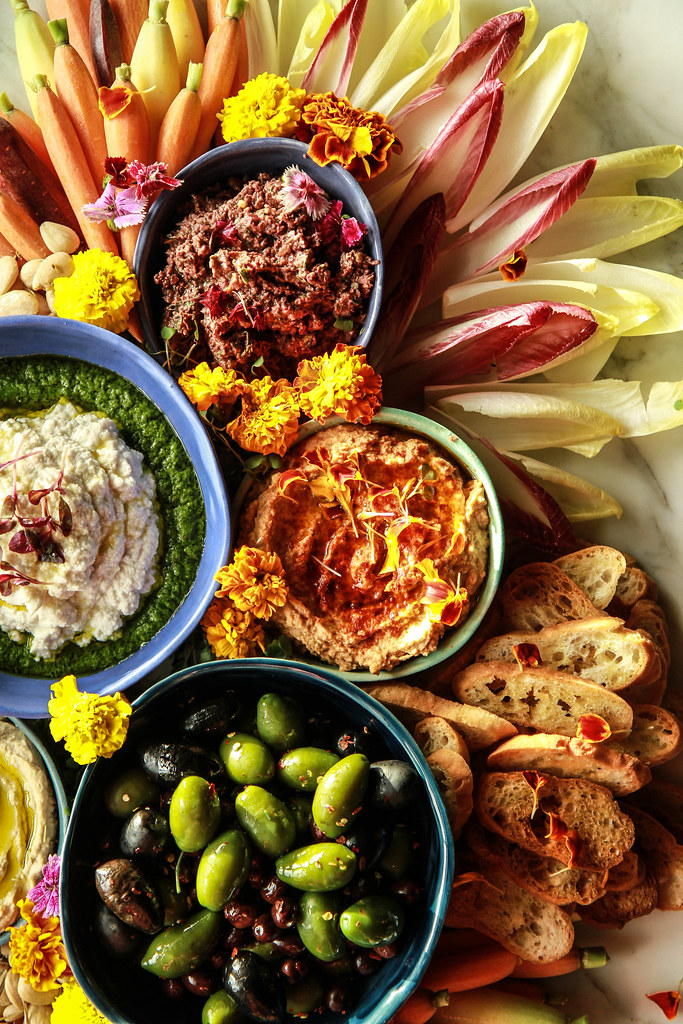 The Ultimate Vegan Appetizer Platter from HeatherChristo.com