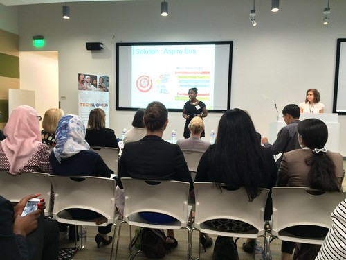 TechWomen 2015 Pitch Night