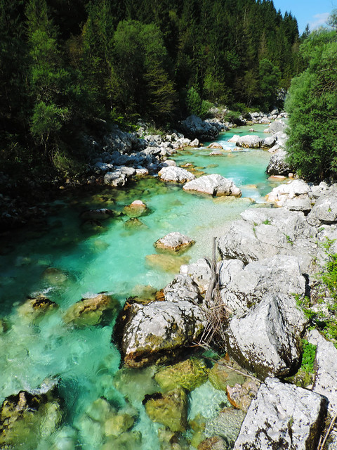 Best Photos Of 2016: Soca River, Slovenia