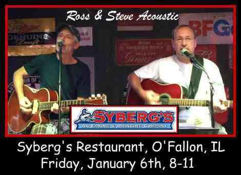 Ross & Steve Acoustic 1-6-17